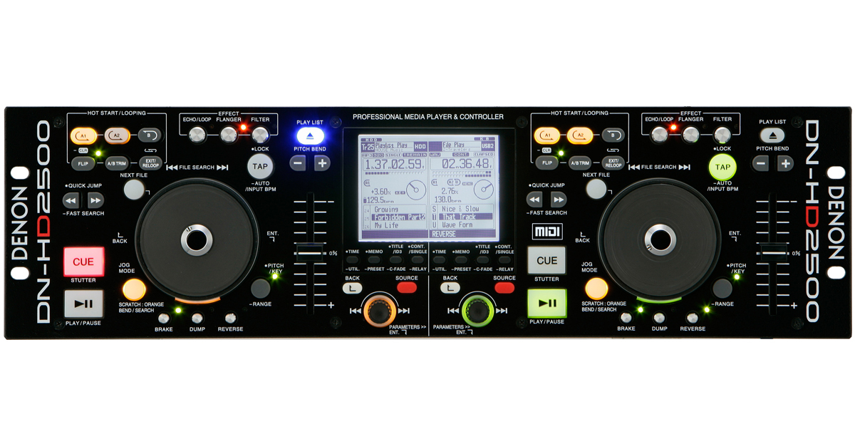 Denon hc-4500: configuración con virtual dj youtube.